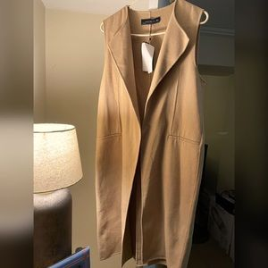 Zara sleeveless jacket